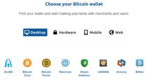 کیف پول های مختلف ارز دیجیتالی